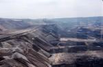 Der erste Blick in den Tagebau