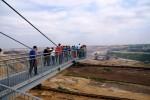 Auf der Aussichtsplattform