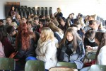 Die Schüler/innen stellten interessante Fragen