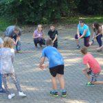 Teambildung im Camp West in Wölmersen