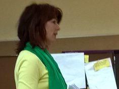 Melanie Henn vom Abfallwirtschaftsbetrieb des Kreises